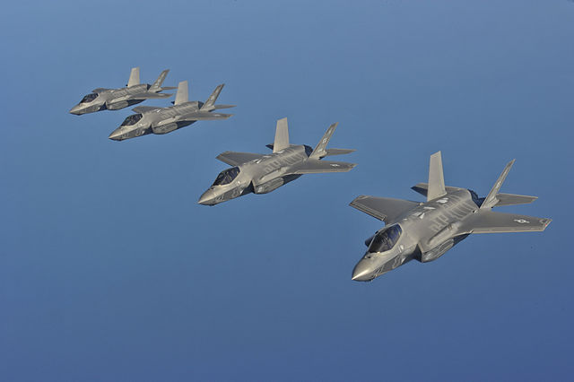 "The Lockheed Martin F-35A has been deemed ""combat ready"" by the U.S. Air Force"