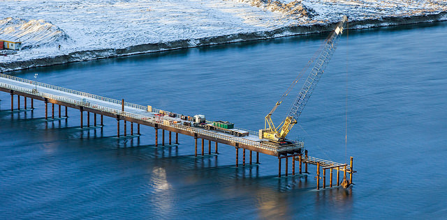 Construction crews have already been working on the $8.8 billion hydro megaproject for more than a year. PHOTO: Province of British Columbia, via Flickr