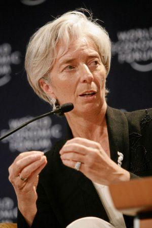 International Monetary Fund Managing Director Christine Lagarde. PHOTO: World Economic Forum    swiss-image.ch/Photo by Remy Steinegger