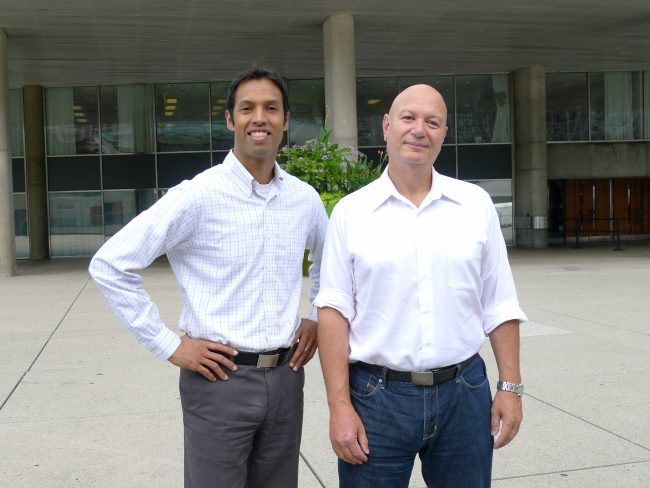 Peter Remedios (left) and Rob McMonagle are managing the City of Toronto's new GMAP progam.