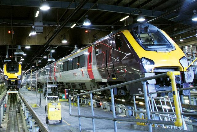 Bombardier has been servicing the rail operators trains for more than 15 years. The new contract extends coverage through 2019. PHOTO: Bombardier