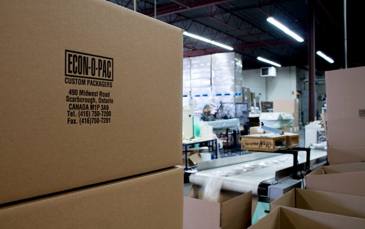 The contract packaging company operates a 50,000 square-foot plant in the east end of Toronto in Scarborough, Ont. PHOTO: David Kennedy