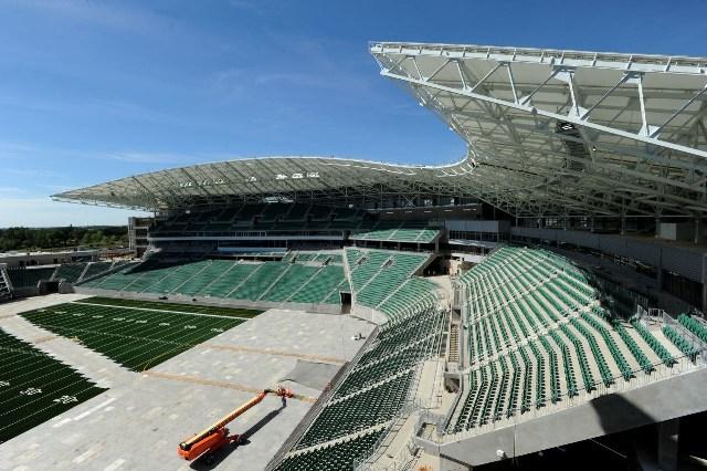 Work Complete On New 278m Roughriders Stadium In Regina Canadian Manufacturing