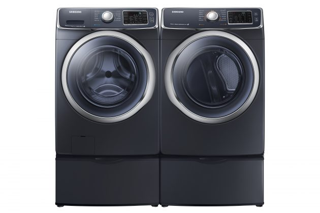 Samsung front-loading washer and dryer set. PHOTO: Samsung