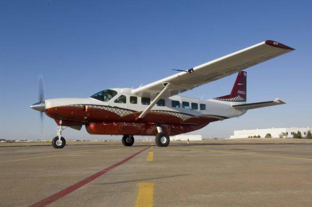 A Cessna Carravan 5. PHOTO: Textron Aviation, Inc.