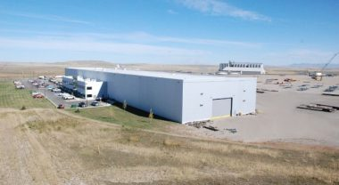 The Quebec-based company's plant in Great Falls, Montana. PHOTO: ADF