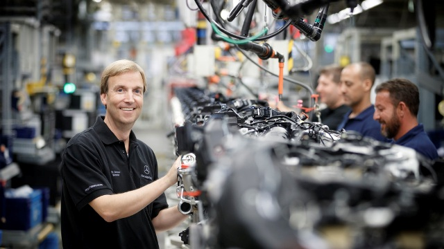 Andreas Schenkel will be responsible for the new plant as CEO of Mercedes-Benz Manufacturing Poland. PHOTO: Daimler