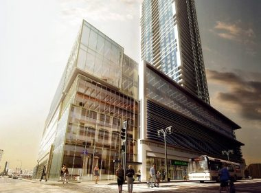 A rendering of the SkyCity development slated for downtown Winnipeg. PHOTO: Fortress Real Developments