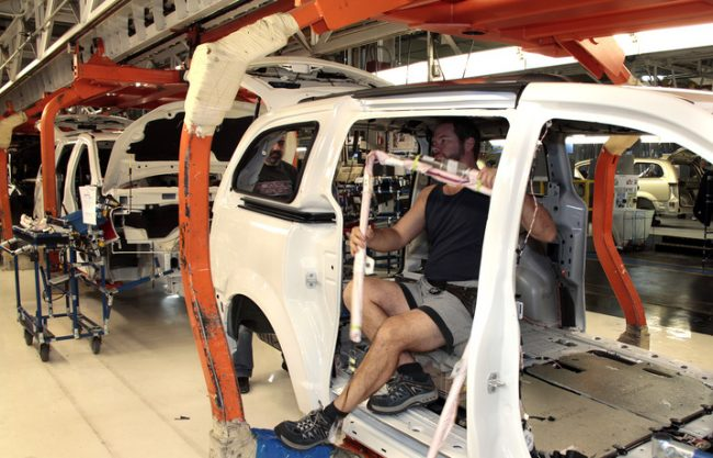 FedDev Ontario said the ArcelorMittal tailored blanks plant will supply parts to Chrysler's assembly facility in Windsor. PHOTO FCA