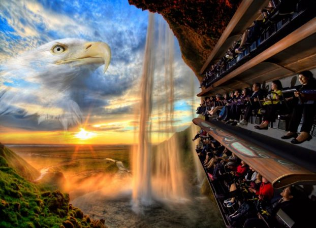 Pier 57's Wings over Washington Flying Theater in Seatle. PHOTO: Dynamic Attractions