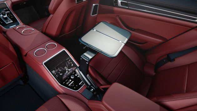 2017 Porsche Panamera interior. PHOTO: Porsche Cars Canada