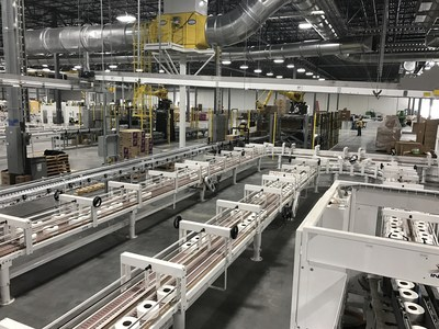 Cascades Inaugurates Us 64m Tissue Converting Plant In