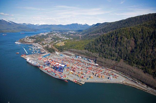 Crews finish work on $200M expansion at Prince Rupert, B C