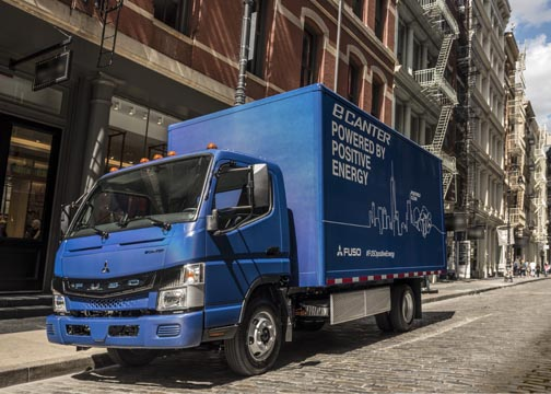 World's first electric truck in series production makes USA debut