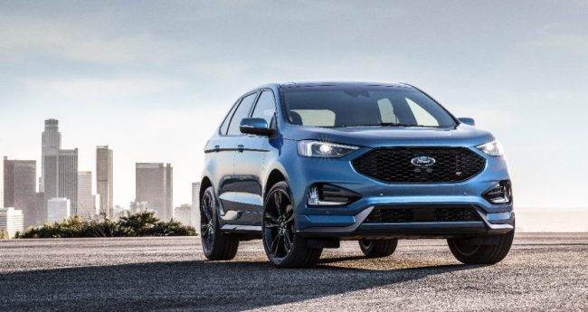 Ford debuts new Edge ST ahead of Detroit auto show