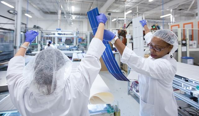 Three Canadian solar panel manufacturers sue U S  over 30 per cent