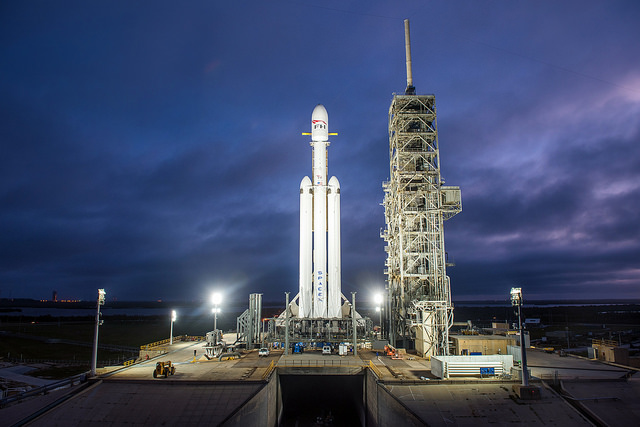 Falcon Heavy rocket has launch window for Tuesday liftoff