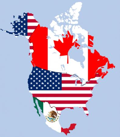 Map Of Canada Usa And Mexico.U S Mexico Nafta Talks Minus Canada Feds Encouraged Talks Are Back