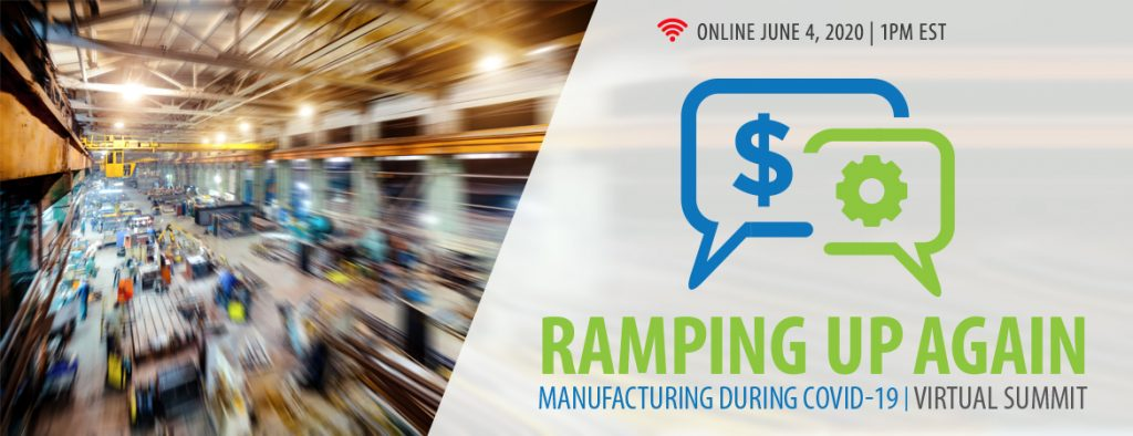 Manufacturing during COVID-19: Ramping up again