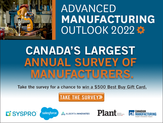 Advanced Manufacturing survey launches, manufacturers encouraged to respond