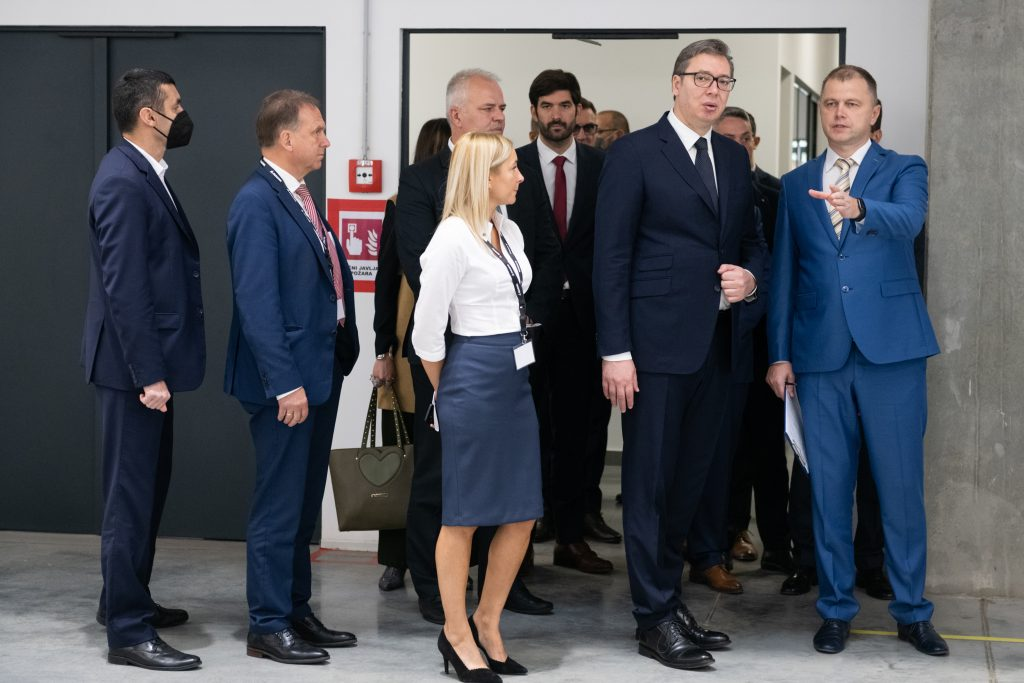 Magna International opens new seating plant in Serbia